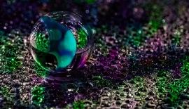 Percussion - Marble in Rain
