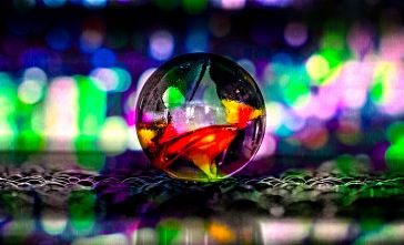 Singin' in the Rain - Marble in Rain