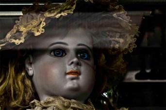 Vintage Dolls: Blue and Gold