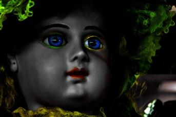 Vintage Dolls: Neon