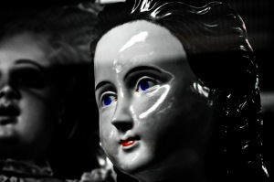 Vintage Dolls: Porcelain